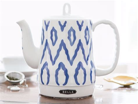 kettle electric ceramic tea bella kettles teapot