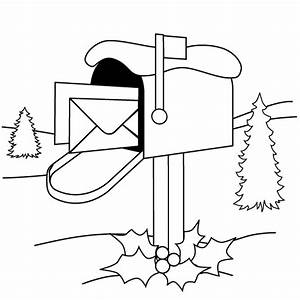 mail carrier hat coloring pages