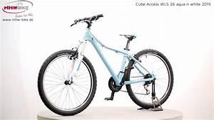 Cube Mountainbike E Bike Damen : cube access wls 26 aqua n white 2015 damen hardtail ~ Kayakingforconservation.com Haus und Dekorationen