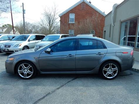 used 2007 acura tl premium leather roof bluetooth low km
