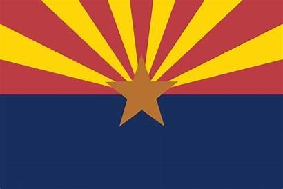 Flag Arizona State Clipart Svg