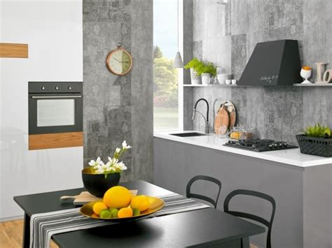 cuisine ton gris quelle couleur cuisine choisir 55 idées magnifiques