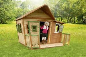 Gartenhaus Holz Kinder : holz kinderspielhaus comicstil gartenspiel geschlossen ~ Watch28wear.com Haus und Dekorationen