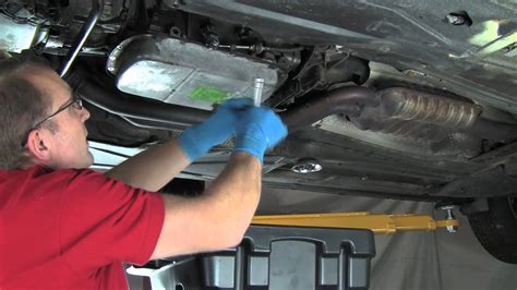 part  changing automatic transmission fluid filter