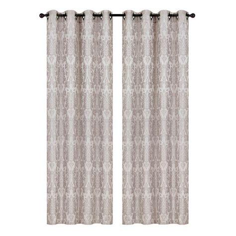 window elements wesley linen blend wide 84 in l