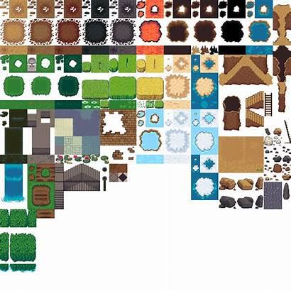 Tileset Tiled Tile Tiles Tilesets Terrains 2d
