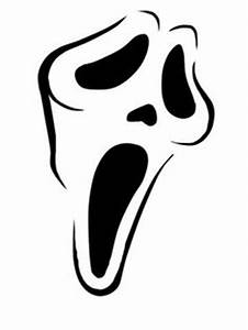 scream ghostface horror tattoo unique tattoo ideas With scream pumpkin template