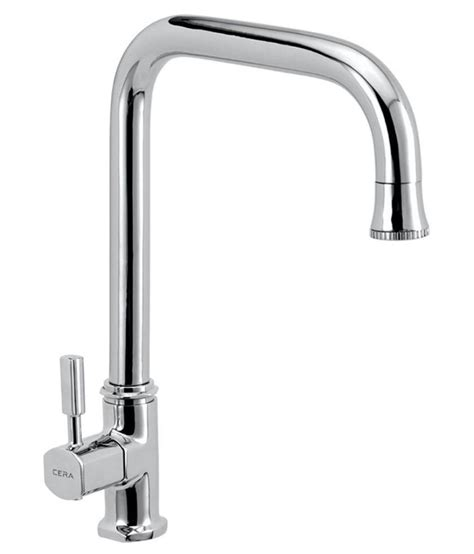 taps for kitchen sinks in india buy cera silver kitchen sink tap cs 1420 at low 9453