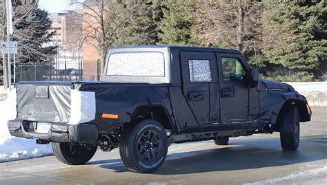 scrambler jeep years new 2019 jeep scrambler truck spy photos emerge quadratec