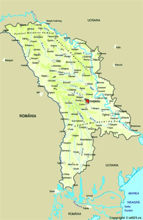 map  moldova maps worl atlas moldova map  maps
