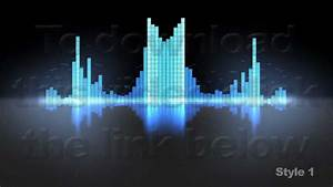 Equalizer Vu Meters Modern Audio 2 Styles Loop Youtube