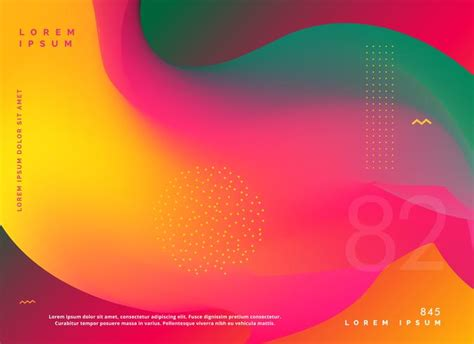 illustrator background color abstract fluid colors gradient shape background