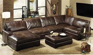 15 best ideas deep seat leather sectional sofa ideas for Sectional sofa with deep seating