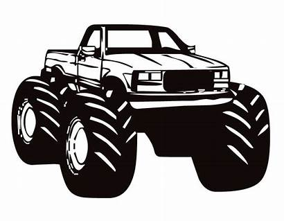 Truck Monster Clip Clipart Trucks Jam Cliparts