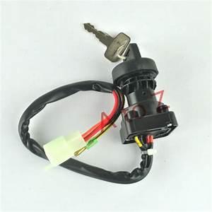 Ignition Key Switch For Suzuki Ltf160 Quad Runner Ltf