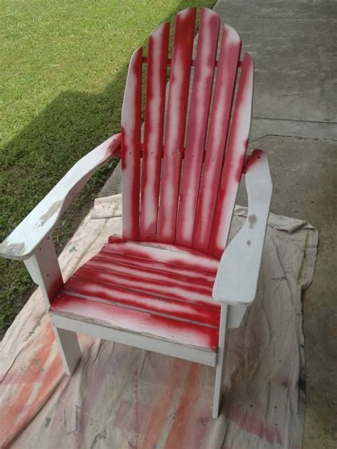 how to paint an adirondack chair patio furniture