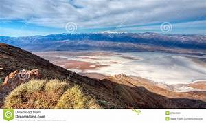 View From Dante's Peak, Death Valley Stock Image - Image ...