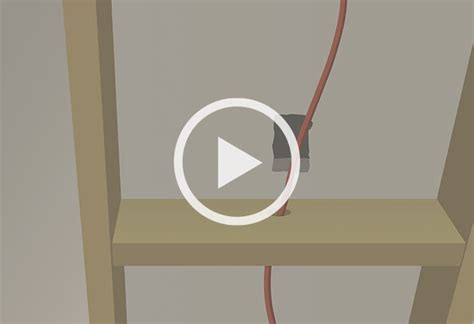 fishing electrical wire through walls at the home depot