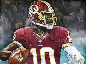 Washington Redskins' Robert Griffin IIi Painting by ...