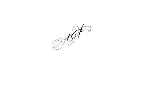 calligraphie tatouage initiales agr calligraphie lettres