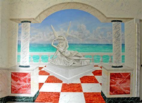 PINTURA DECORATIVA SANTIAGO DE CHILE: Mural en Hall de