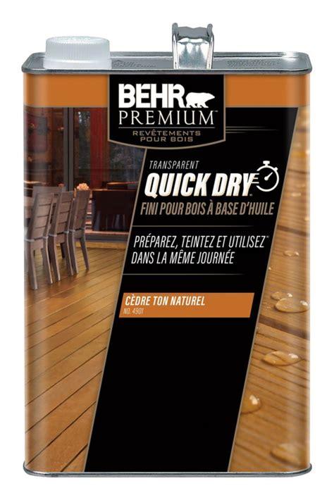 behr premium quick dry oil base wood finish  cedar