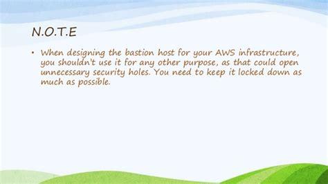 bastion host amazon web services