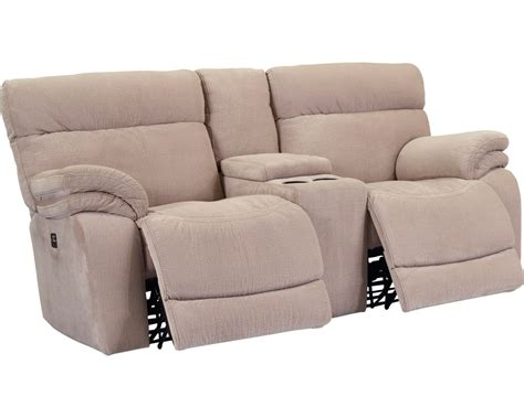 double recliner sofa with console windjammer double reclining rocking loveseat with console