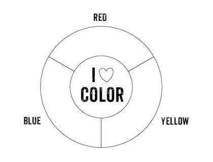 printable color wheel mr printables 474 | printable color wheel primary colors blank