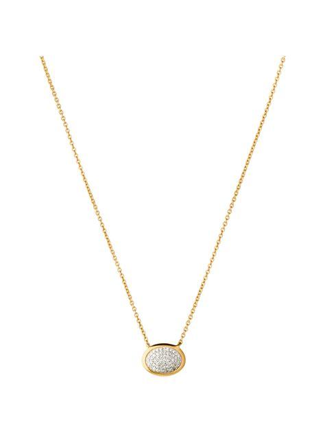 Links of london Diamond Essentials Gold Vermeil Necklace