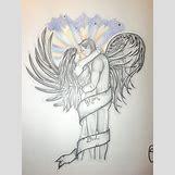 Fallen Angel Drawings | 900 x 1200 jpeg 187kB