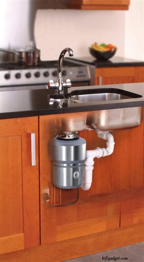 kitchen sink waste disposal unit garbage disposal installation insinkerator evolution review 8559