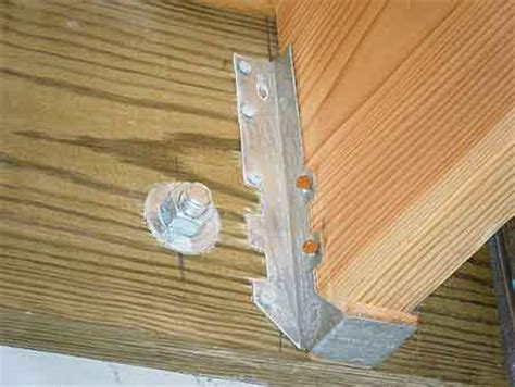 deck joist hangers or not construction concerns pressure treated lumber and joist