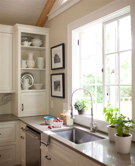 storage ideas  kitchens  upper cabinets traditional home
