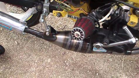 mbk 51 magnum racing xr moteur malossi neuf premier demarage
