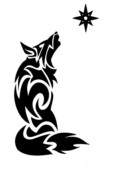 The wolf is often chosen as a tattoo subject on account of his rapidity and free spirit, but it