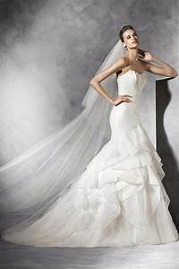 Pronovias Feather Bodice Gown From Texas By Beatitude