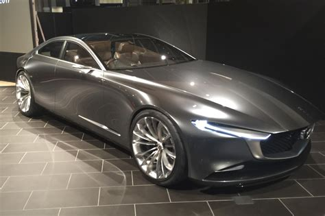 mazda coupe mazda vision coupe graces 2018 geneva show with its