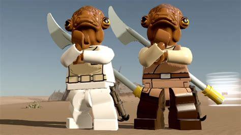Lego Star Wars The Force Awakens Admiral Ackbar Free