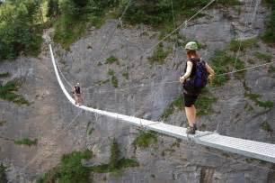 Murren Via Ferrata Bridge