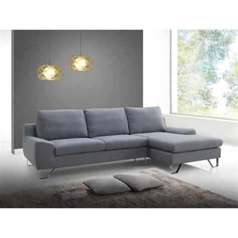 prix d un canapé prix canapé quot trendy quot gris angle gauche achat