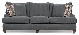 Putty Chenille Sofa - Grey The Brick