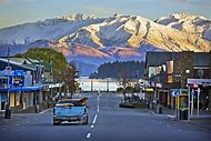 Wanaka New Zealand Town