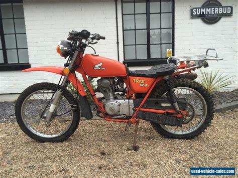 Honda Ct125 Trail Bike Barn Find Restoration Project