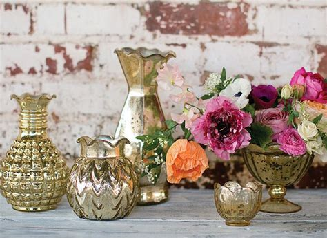 Mercury Vases Wedding - 1000 ideas about mercury glass wedding on