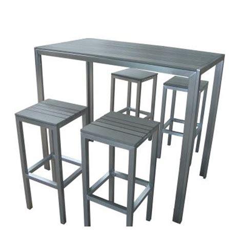 table cuisine avec tabouret table rabattable cuisine tabouret pour table haute