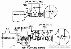 Ford Truck Part Numbers - Coupling Shaft