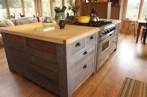 custom kitchen island plans crafted rustic kitchen island by atlas stringed