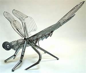 Sculpturen Aus Altmetall Einzigartige Kreationen Zum