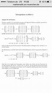 Determinante Berechnen : determinante blockmatrix wo nullen mathelounge ~ Themetempest.com Abrechnung